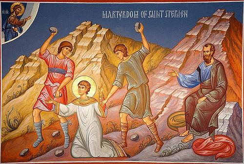 martyr of St. Stephen